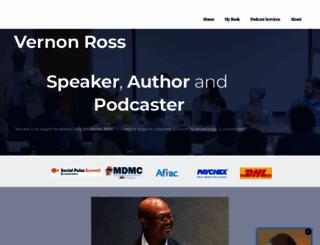 vernonross.com screenshot