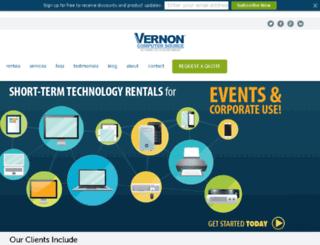 vernontech.com screenshot