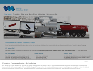 veroma-modellbau.eu screenshot