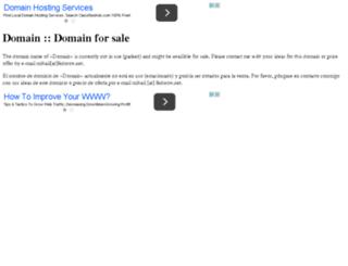 veron03.webovastranka.cz screenshot
