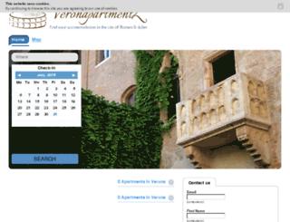 veronapartmentz.com screenshot