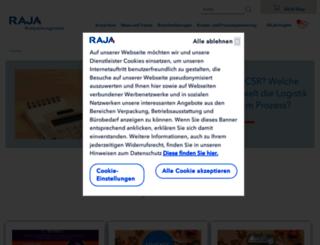 verpackungsnews.rajapack.de screenshot