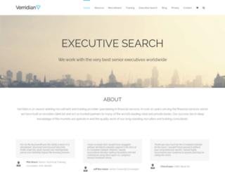 verridian.co.uk screenshot