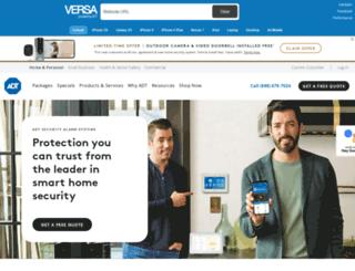 versa.adt.com screenshot