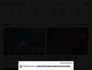 versailles.fr screenshot