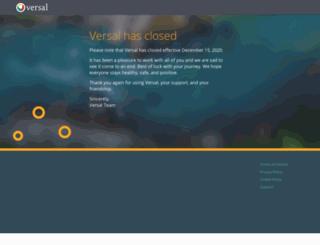 versal.com screenshot