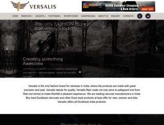versalis.co screenshot