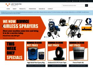 versatileproducts.co.nz screenshot