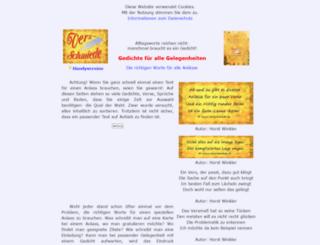 verseschmiede.com screenshot