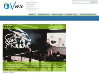 versi.edu.au screenshot