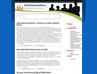 versicherung-blog.com screenshot