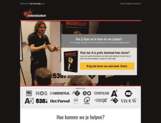 versiercoach.nl screenshot