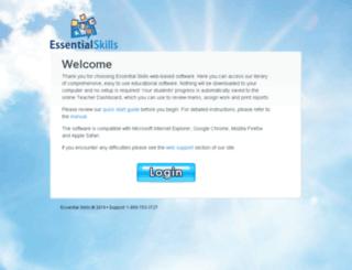 version6.essentialskills.net screenshot
