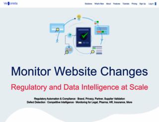 versionista.com screenshot