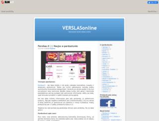 verslasonline.blogas.lt screenshot