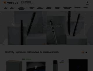 versus-reklama.pl screenshot