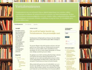 vertalersnieuws.blogspot.com screenshot