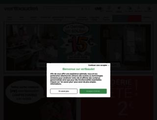 vertbaudet.fr screenshot