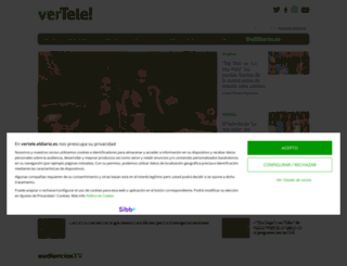 vertele.com screenshot