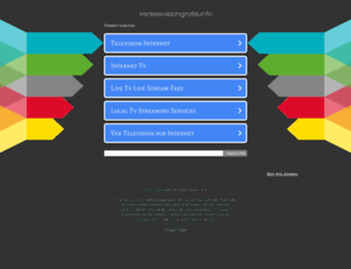 vertelevisiongratis.info screenshot
