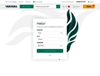 vertera.org screenshot