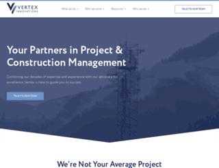 vertex-us.com screenshot