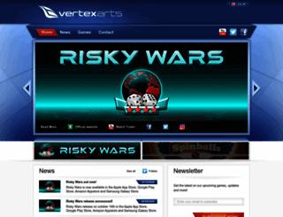 vertexarts.com screenshot
