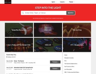 vertextickets.com screenshot