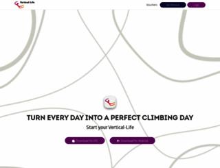 vertical-life.info screenshot