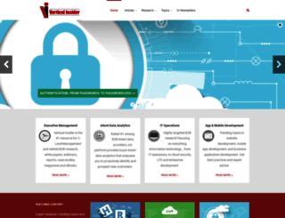 verticalinsider.com screenshot