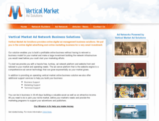 verticalmarketadnetwork.com screenshot