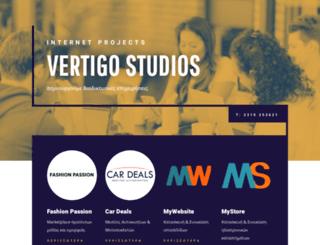 vertigostudios.net screenshot