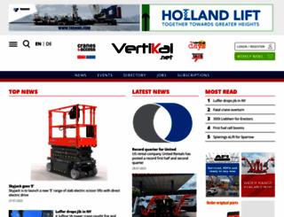 vertikal.net screenshot