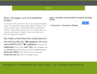 vertipper-auktionen.de screenshot