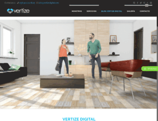 vertizedigital.com screenshot