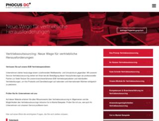 vertriebsoutsourcing.com screenshot