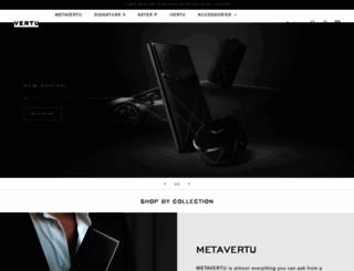 vertu.com screenshot