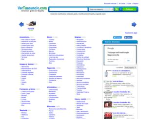 vertuanuncio.com screenshot