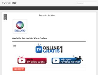 vertvaovivonline.blogspot.com.br screenshot