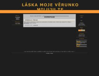 veruska.7x.cz screenshot