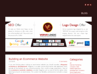 vervelogic.weebly.com screenshot