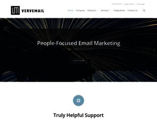 vervemail.com screenshot