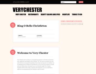 verychester.wordpress.com screenshot