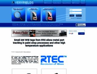 veryfields.net screenshot