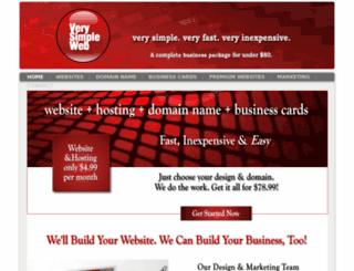 verysimpleweb.com screenshot