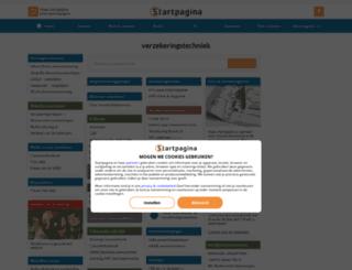 verzekeringstechniek.pagina.nl screenshot