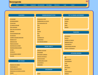 verzorgende.allepaginas.nl screenshot