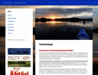 vesivaeltajat.fi screenshot