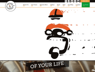 vespaadventures.com screenshot