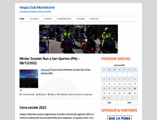 vespaclubmonfalcone.it screenshot